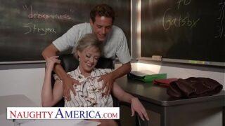 Naughty America – Dee Williams fucks her student